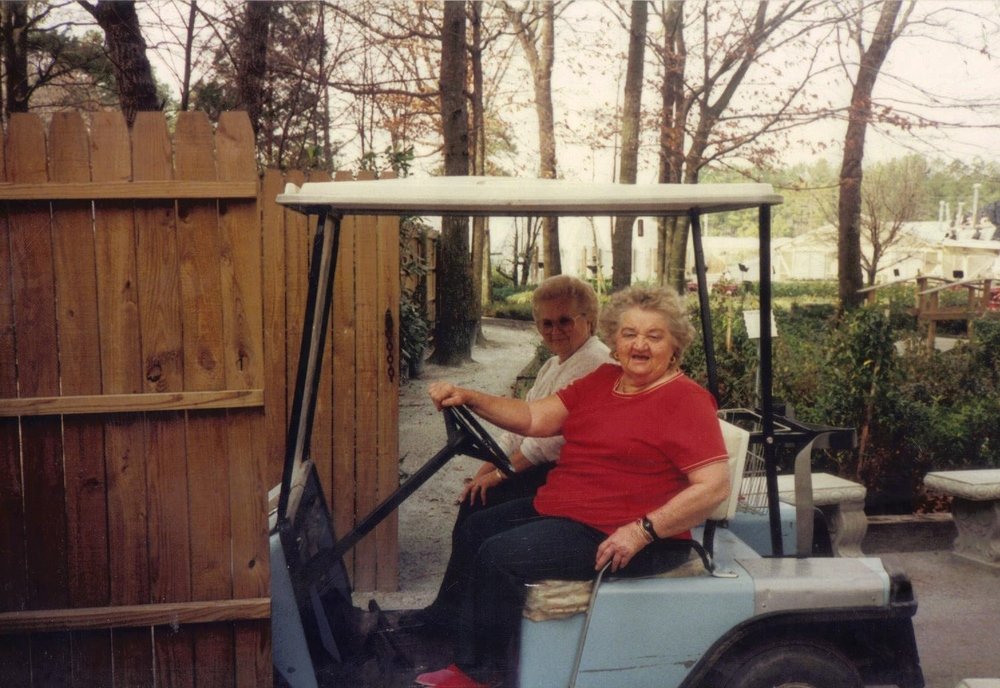 Beulah and pearlie golf cart.jpeg