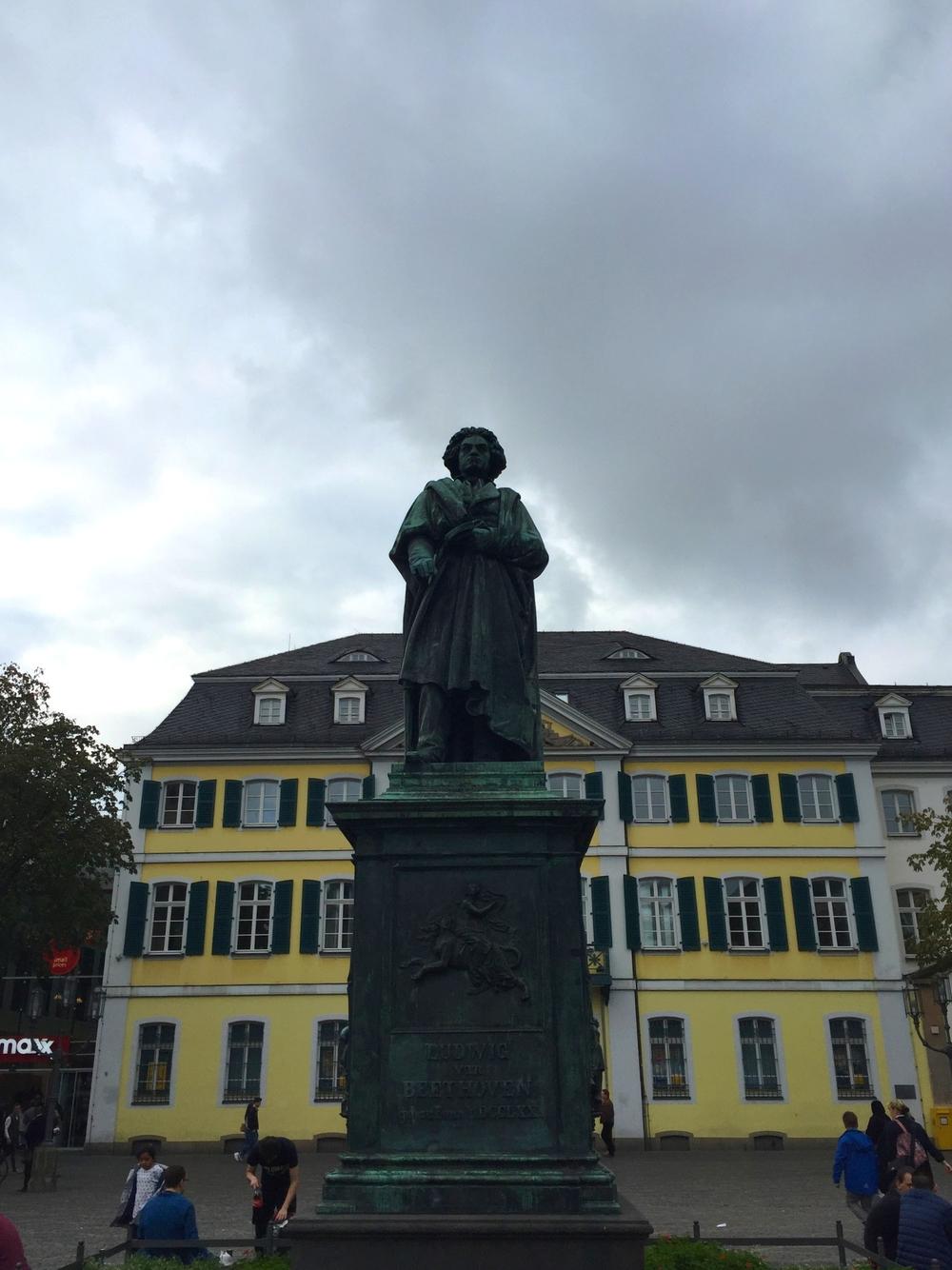 Bonn's famous son - Ludwig van Beethoven
