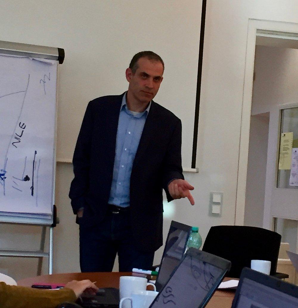 Prof. Yossef Rapoport discussing al-Nabulsī's  Tarīkh al-Fayyūm.
