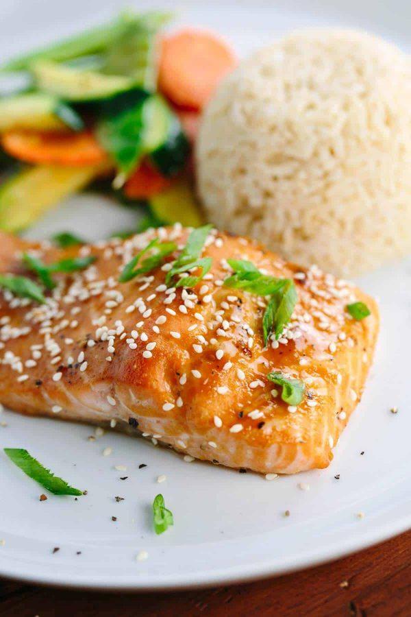 15 Minute Miso Glazed Salmon