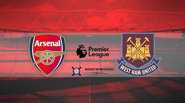 @arsenal vs West Ham @premierleague @plinusa  Tomorrow / 8:30am / @brickwood_grill 🔴⚪️ .... · · · · · · · #arsenal #afc #arsenalfc #gooners #gunners #london #northlondon #northlondonisred #emirates #football #soccer #premierleague #england #greatbritain #arsenalamerica #thearsenal #arsenalfans #wearethearsenal #arsenalfan #arsenaltillidie #merciarsène