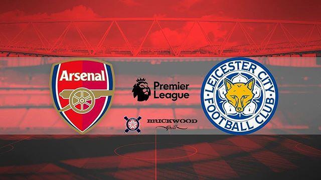 @arsenal vs Huddersfield @premierleague @plinusa  Tomorrow / 2:45pm / @brickwood_grill 🔴⚪️ ..... · · · · · · · #arsenal #afc #arsenalfc #gooners #gunners #london #northlondon #northlondonisred #emirates #football #soccer #premierleague #england #greatbritain #arsenalamerica #thearsenal #arsenalfans #wearethearsenal #arsenalfan #arsenaltillidie