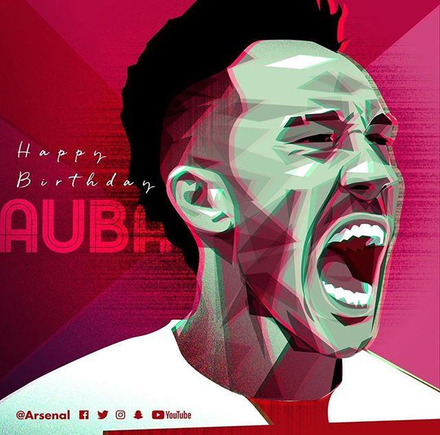 Happy Birthday @aubameyang97 from all of at @rocgooners 🔴⚪️ ...... · · · · · · · #arsenal #afc #arsenalfc #gooners #gunners #london #northlondon #northlondonisred #emirates #football #soccer #premierleague #england #greatbritain #arsenalamerica #thearsenal #arsenalfans #wearethearsenal #arsenalfan #arsenaltillidie #aubameyang