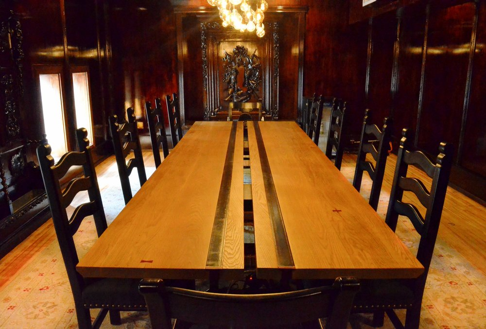 "Tabernacle Conference Table 42"" x 144"""