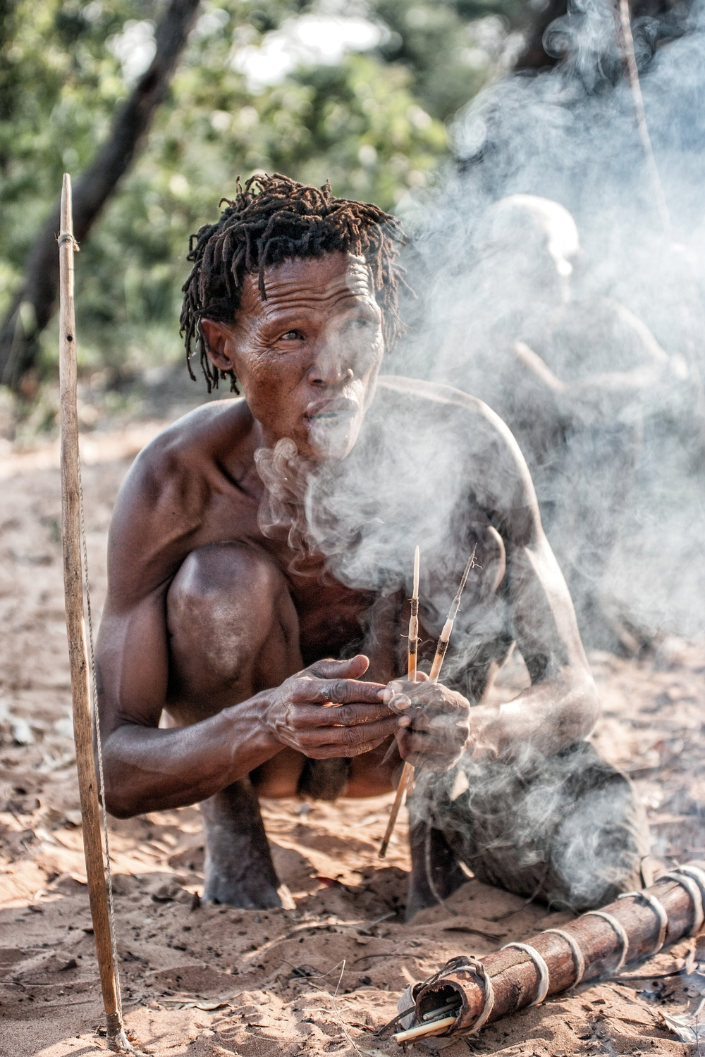 bushmen: hunters and gatherers