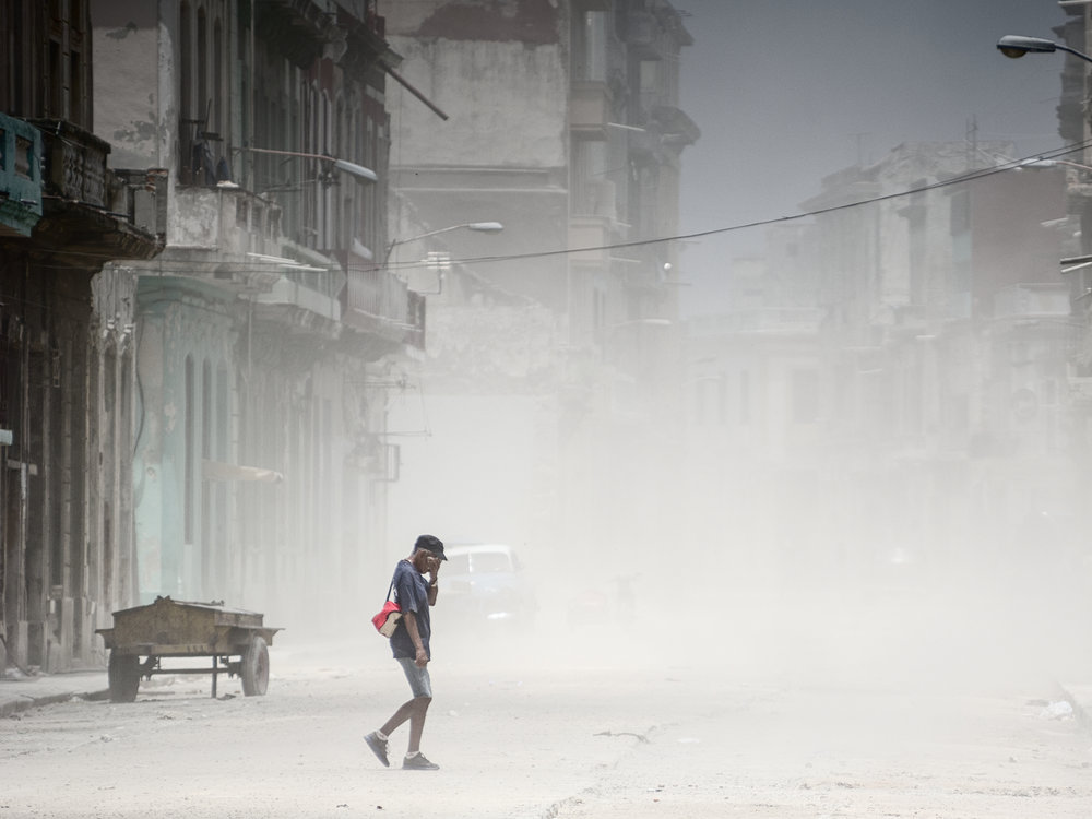 dust in havana