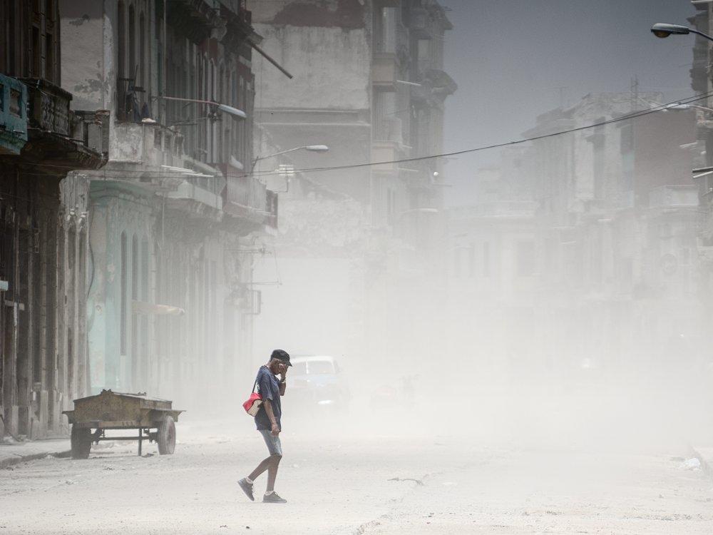 dust in havana