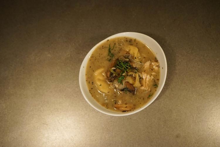 Porcini Mushroom Bisque