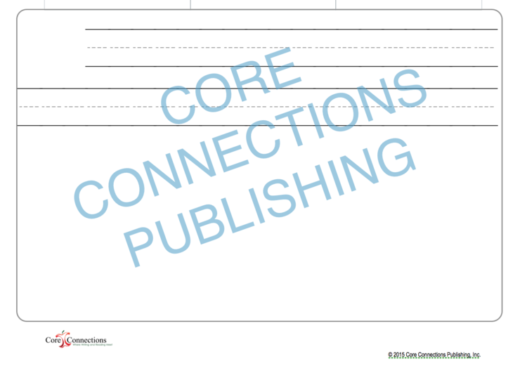 Kindergarten Frames — Core Connections