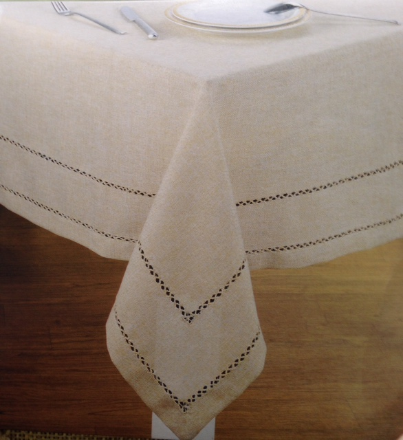 Lintex Hemstitch Tablecloth