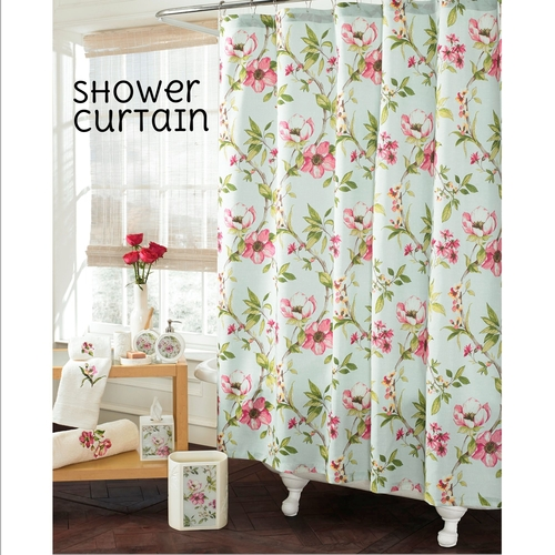 J Queen Magnolia Shower Curtain