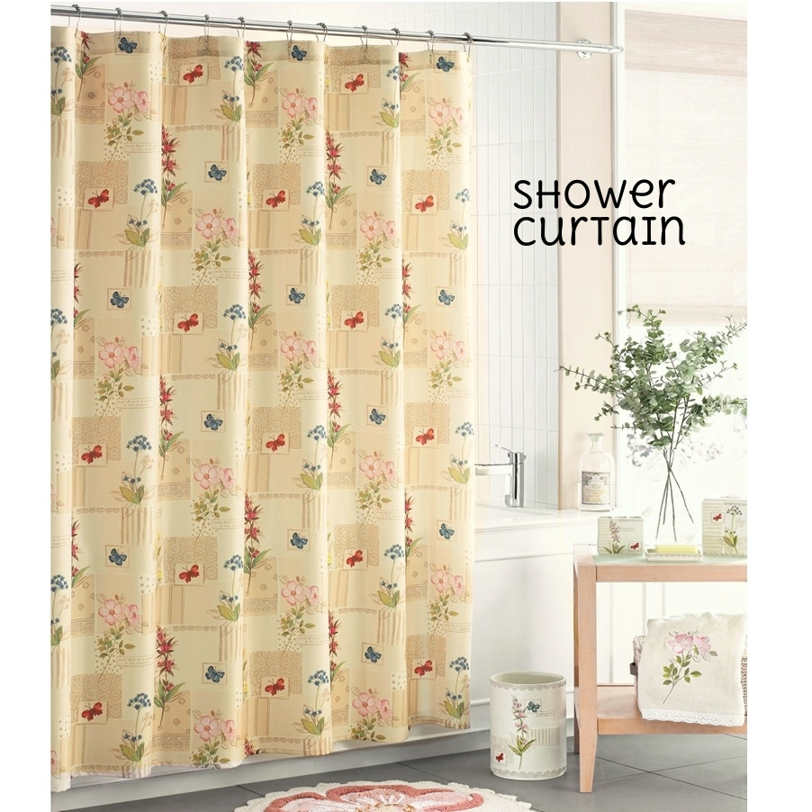 J. Queen Tuscany Shower Curtain