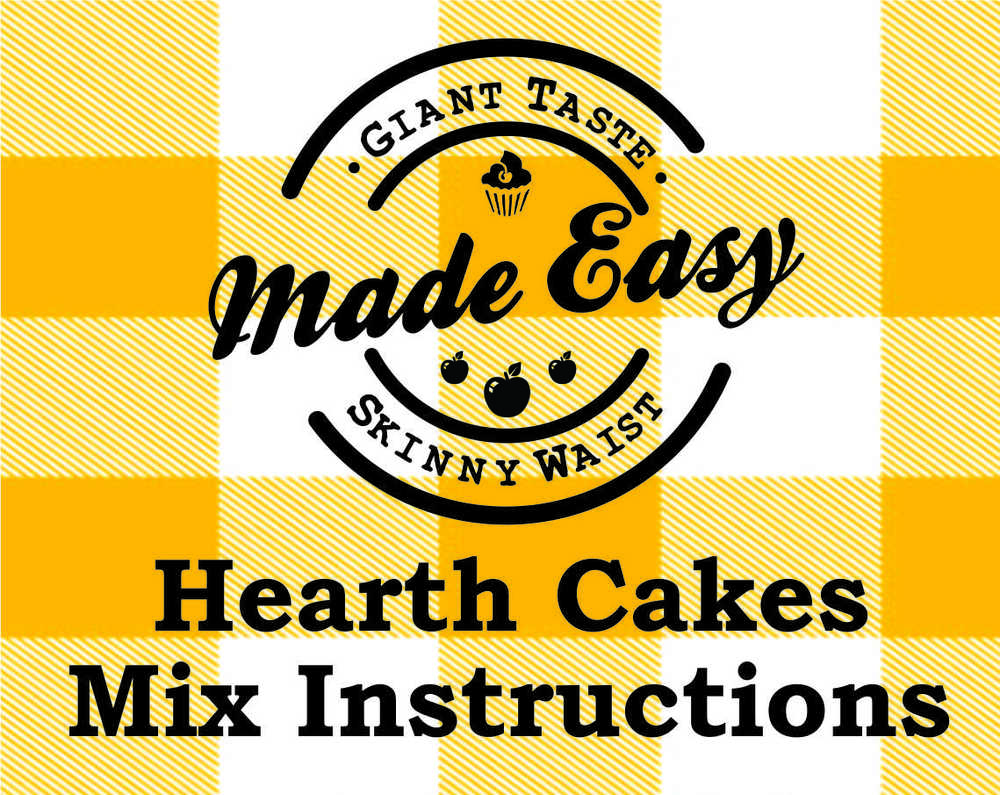 "HEARTH CAKES  Directions MAKES 15, 2 ½"" PANCAKES    You will need:       ❏    1 egg      ❏    1 ¼ to 1 ½ cup milk     For fluffier pancakes, add:       ❏    1 tsp baking powder       ❏    ¼ tsp salt     Combine mix, egg and milk in mixing bowl. Whisk well until no lumps remain. Let stand 5 minutes and whisk again. Add additional milk or water if needed for a thin, pourable consistency. Amount of milk needed may vary slightly depending on type used. Batter and pancakes will be thin, but will be fluffier if baking powder is added.   Pour batter onto hot, greased skillet in 2 ½"" circles. Let cook until edges are dry and underside is lightly browned. Flip and cook until second side is lightly brown. Transfer to a serving plate and keep warm until ready to serve.  Nutrition Information (as prepared with unsweetened coconut milk), 3 pancakes per serving: Calories 165, Total Fat 5g (Saturated 3g), Cholesterol 35mg, Sodium 39mg, Total Carb 25g, Fiber 5g, Sugar 6g, Protein 5g"