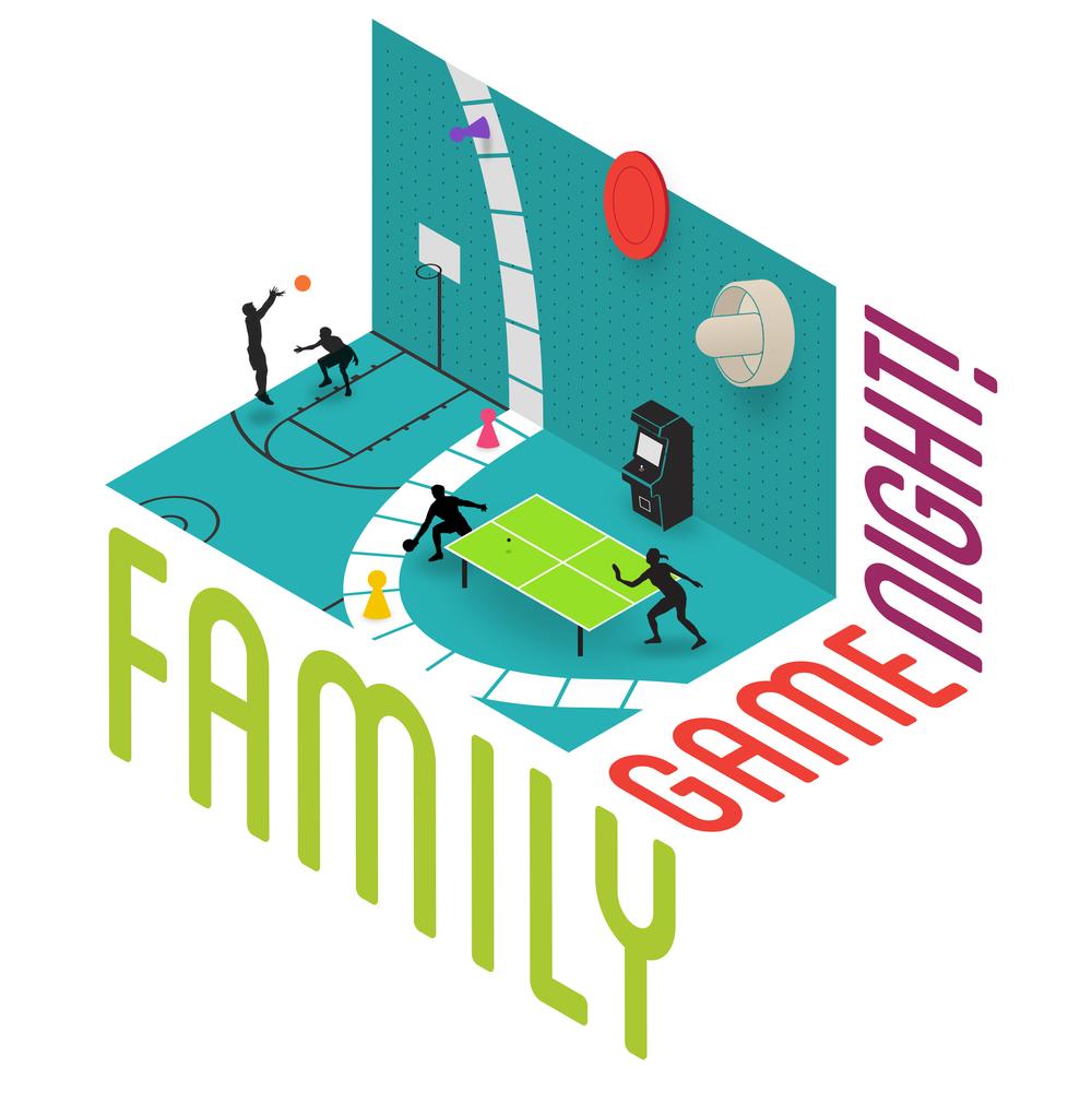 Family Game Night Branding
