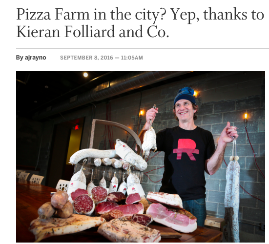 Star Tribune: Pizza Farm in the City?