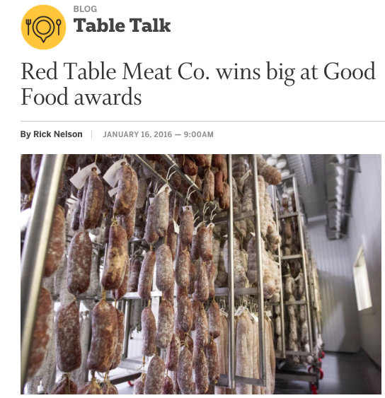 Star Tribune: Red Table Wins Big at GOOD FOOD Awards