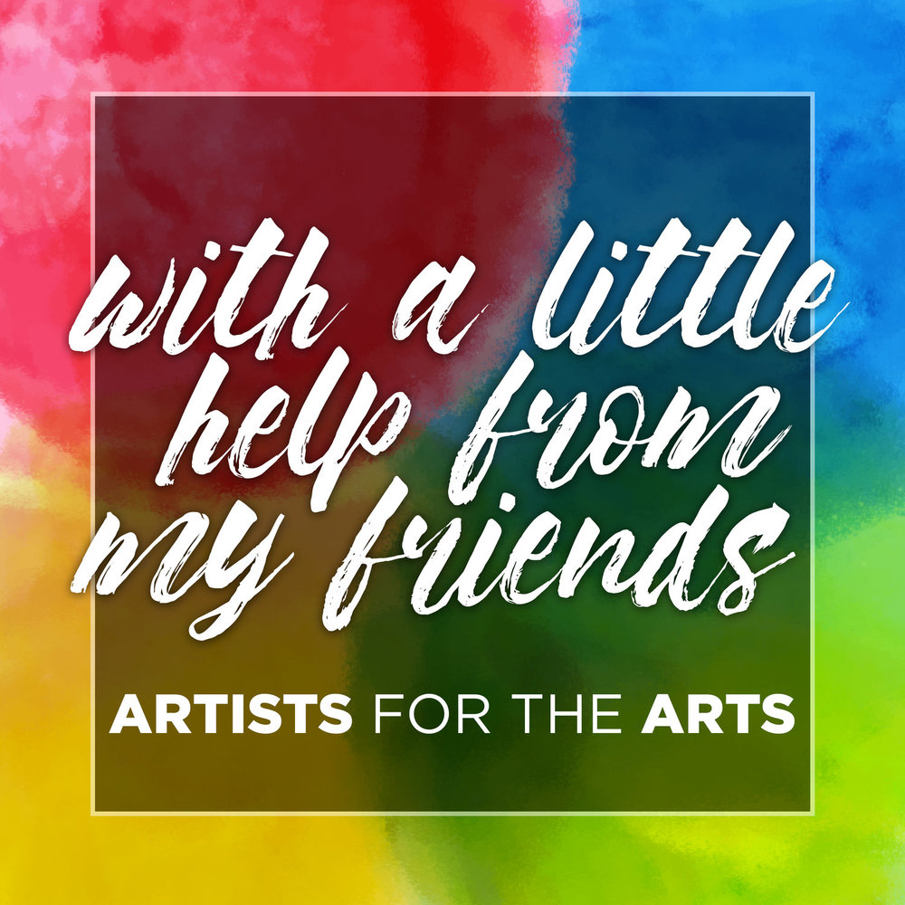 Artists for the Arts - With A Little Help From My Friends Album Art