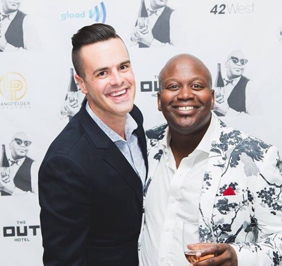 Michael J Moritz Jr and Tituss Burgess