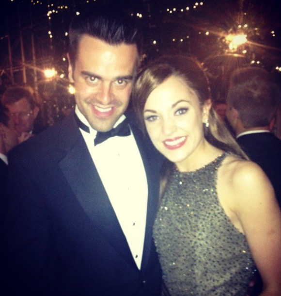 Michael J Moritz Jr and Laura Osnes