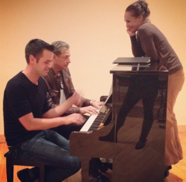 Michael J Moritz Jr testing the Chaos Theory with Jeff Goldblum