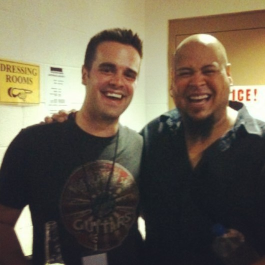 Michael J Moritz Jr and Abe Laboriel Jr.