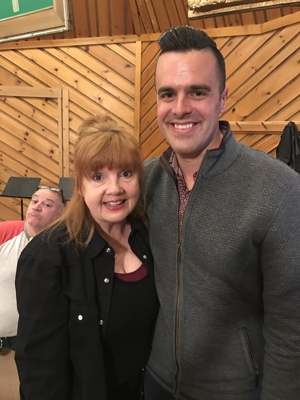 Michael J Moritz Jr and Annie Golden