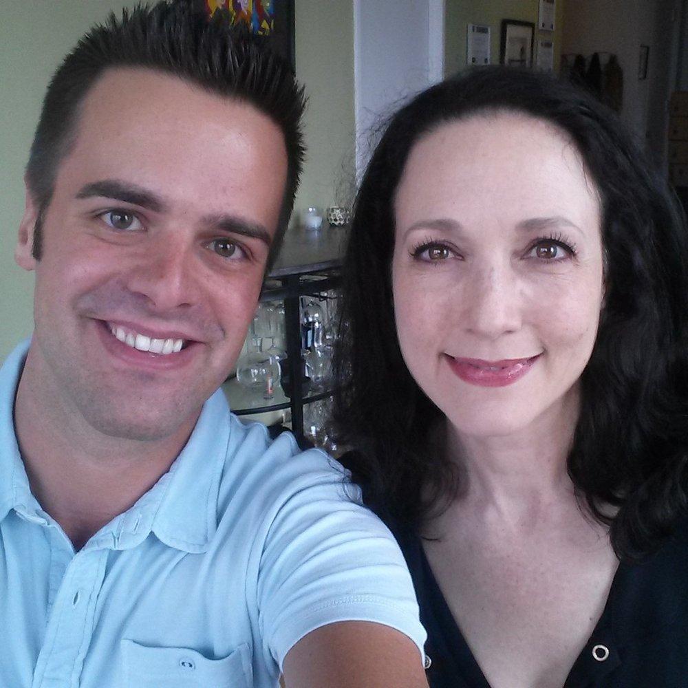 Michael J Moritz Jr and Bebe Neuwirth