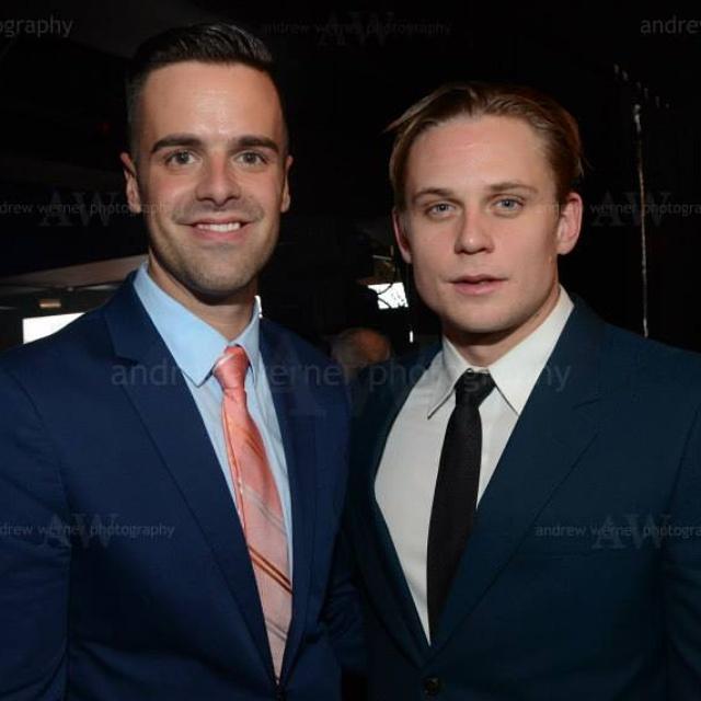 Michael J Moritz Jr and Billy Magnussen