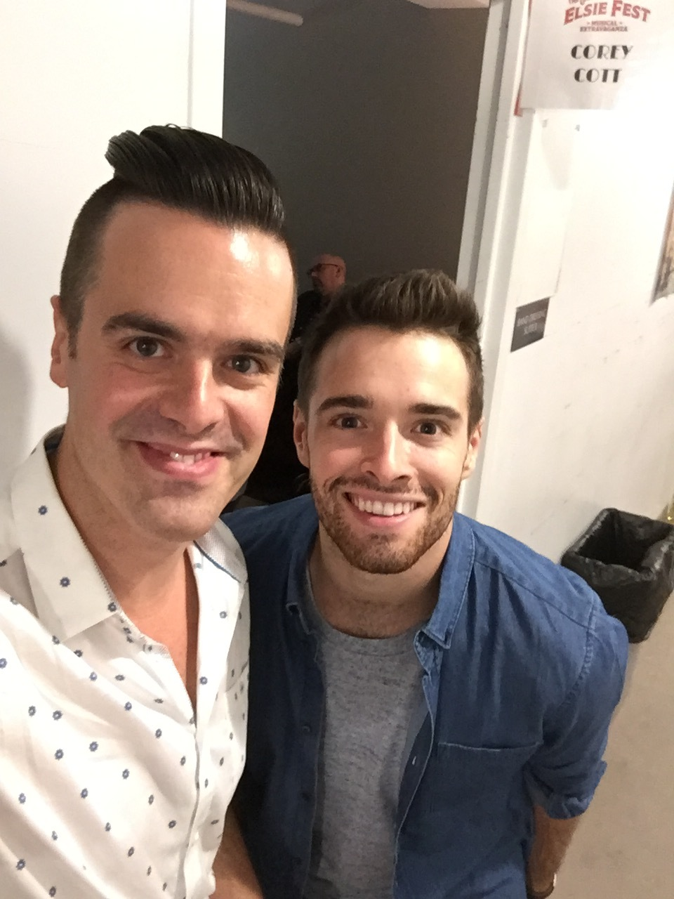 Michael J Moritz Jr and Corey Cott