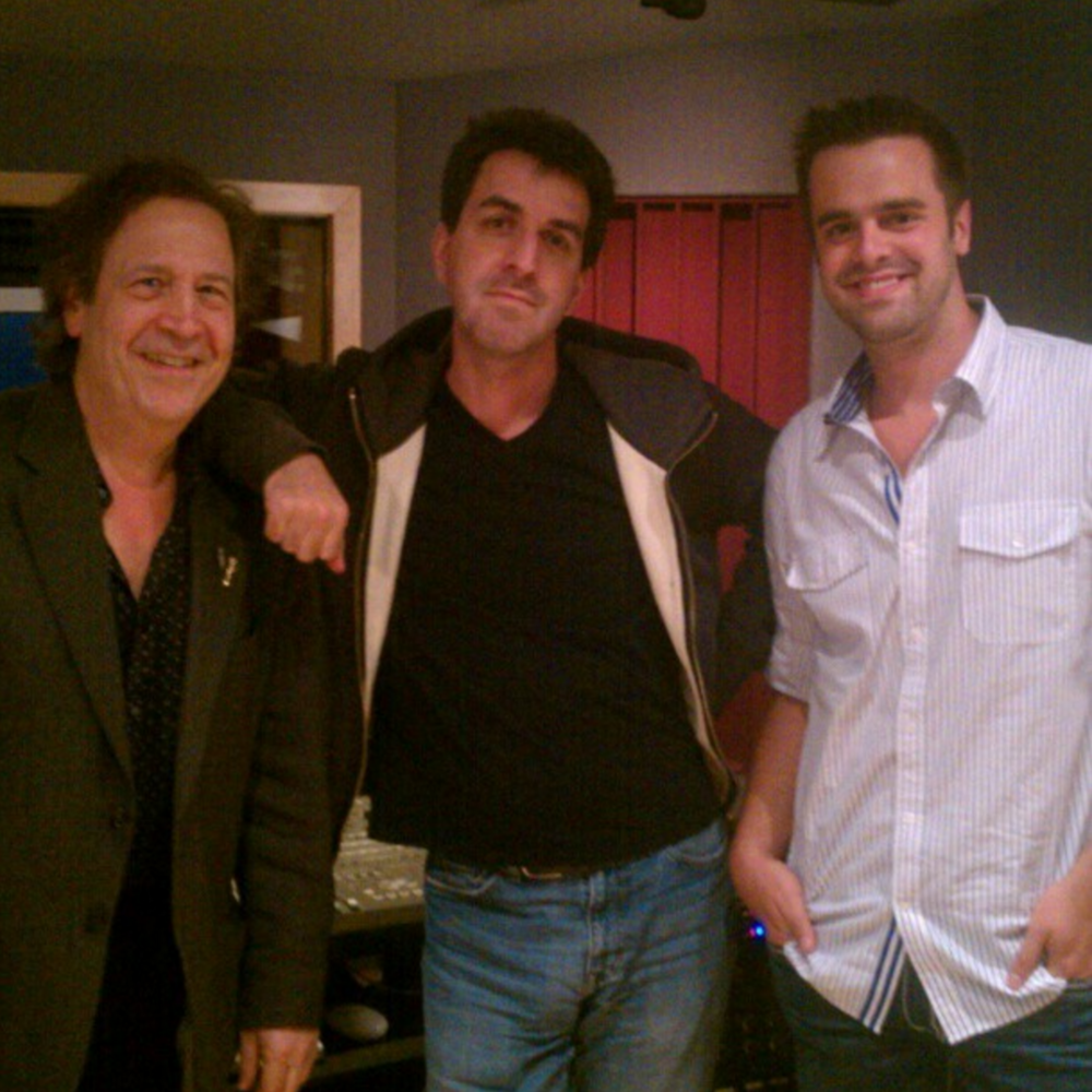 Michael J Moritz Jr with Jason Robert Brown and Jeffrey Saver