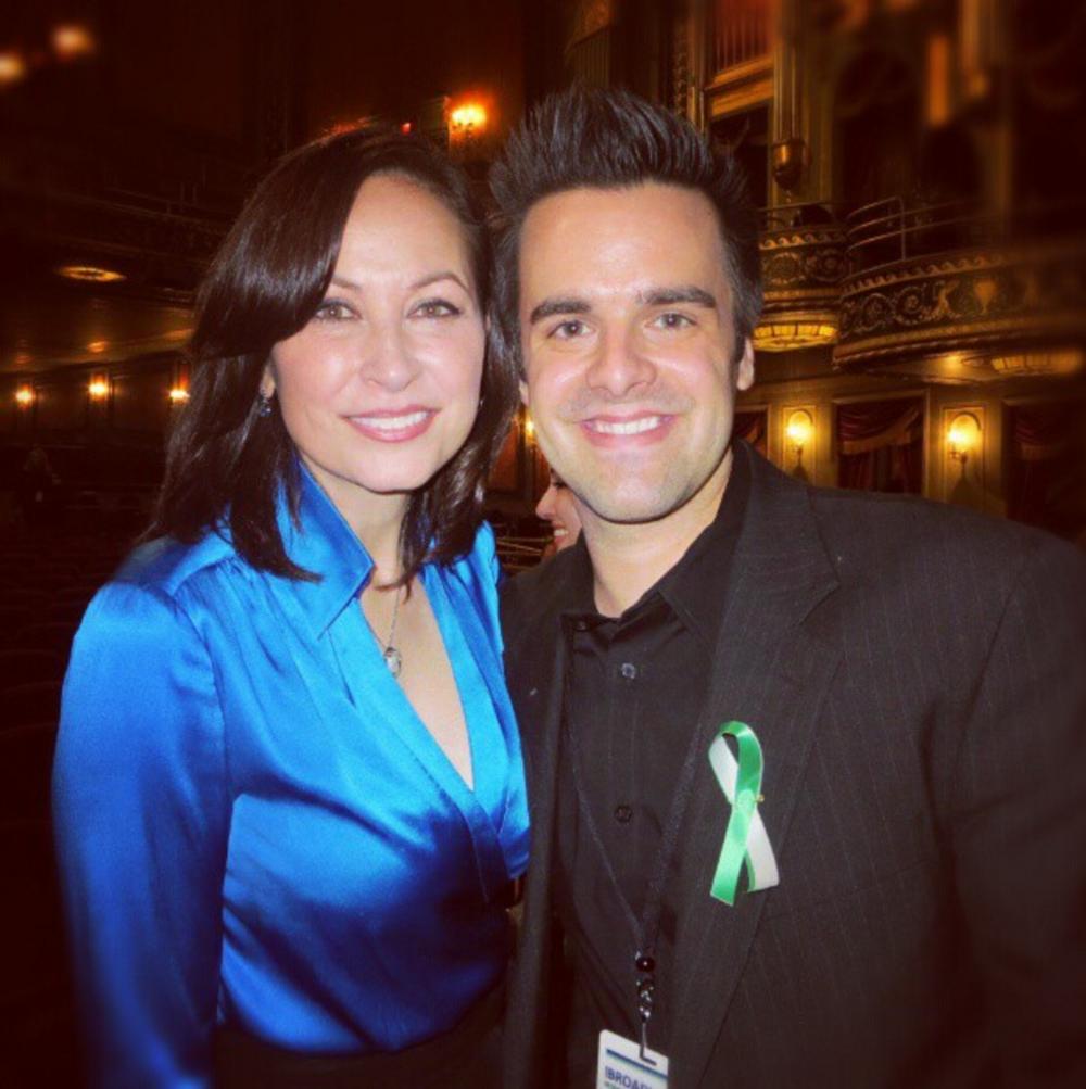Michael J Moritz Jr with Linda Eder