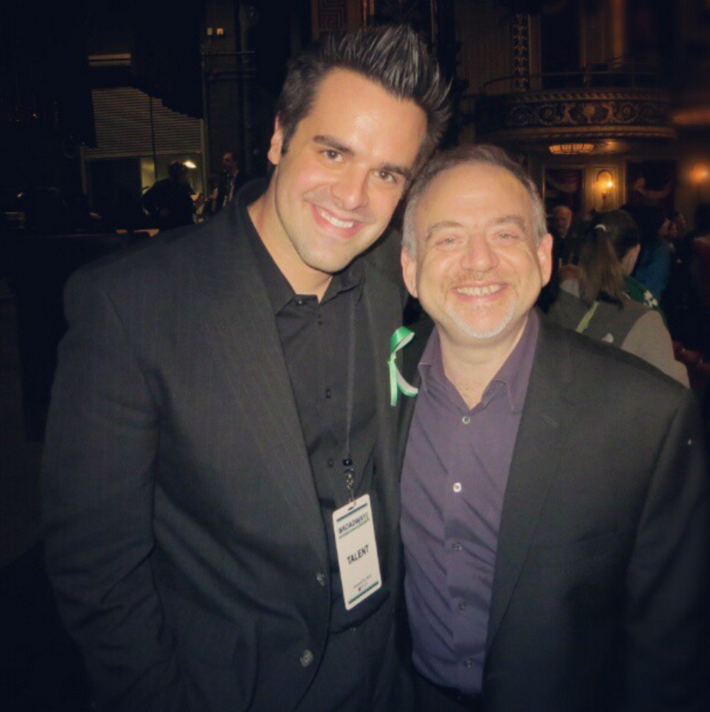 Michael J Moritz Jr and Marc Shaiman