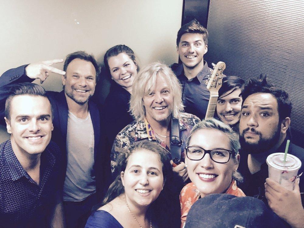 Michael J Moritz Jr with Norbert Leo Butz and friends!