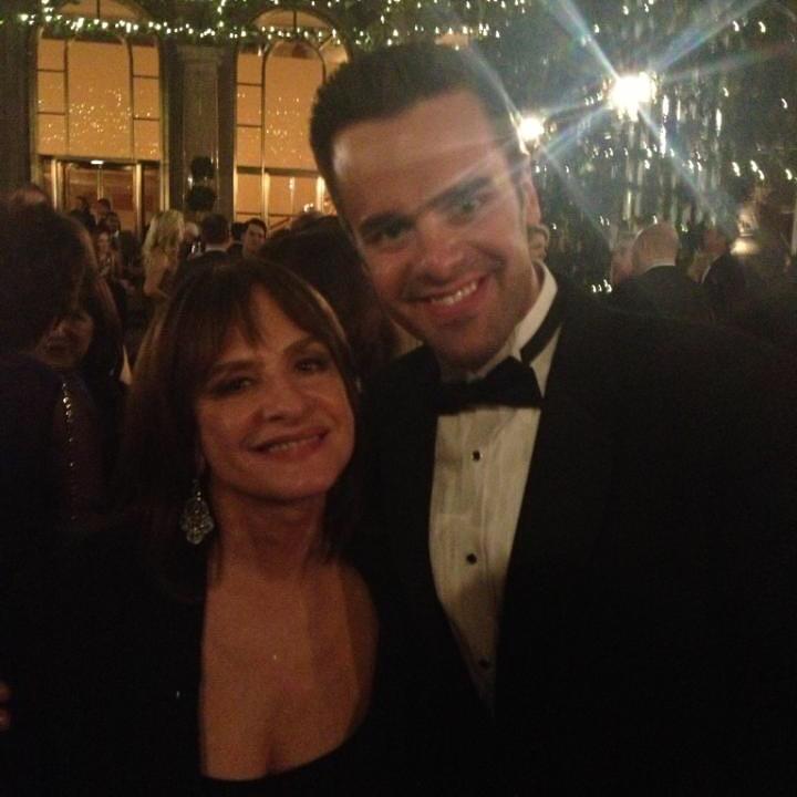 Michael J Moritz Jr and Patti LuPone