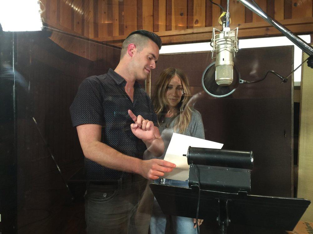 Michael J Moritz Jr with Sarah Jessica Parker