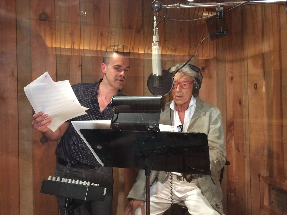 Michael J Moritz Jr and Tommy Tune