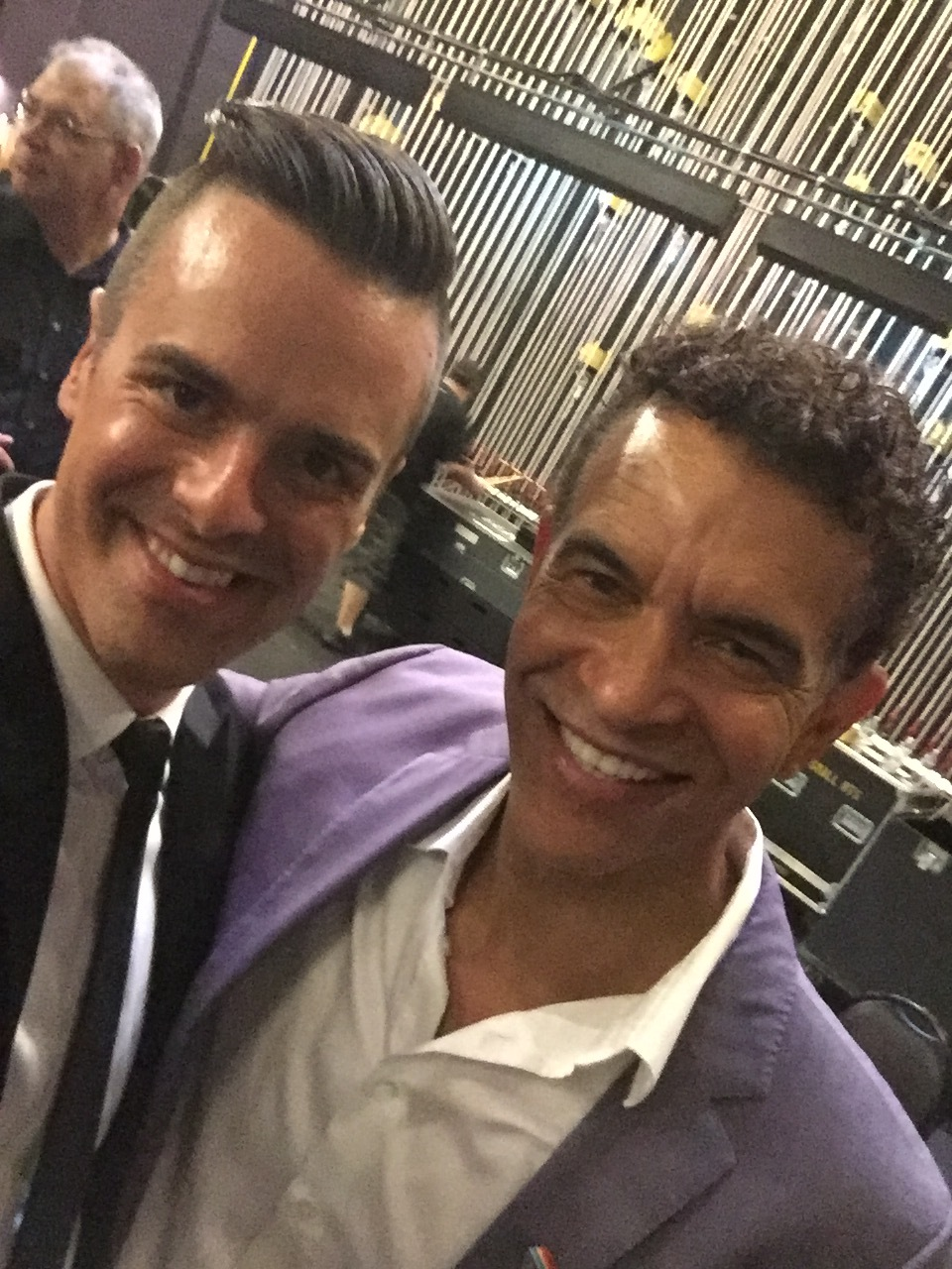 Michael J Moritz Jr and Brian Stokes Mitchell