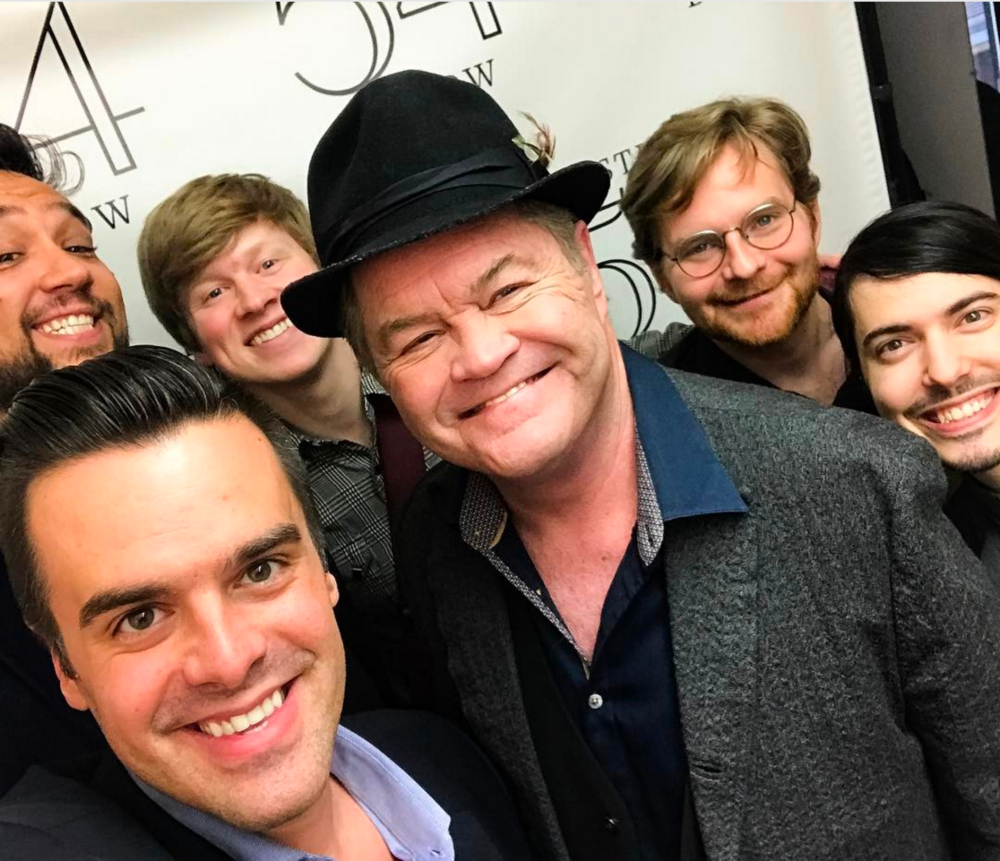 Michael J Moritz Jr, Micky Dolenz, and the band!