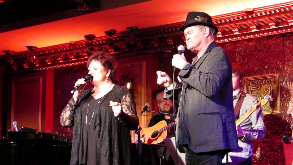 Coco Dolenz and Micky Dolenz at Feinstein's/54 Below