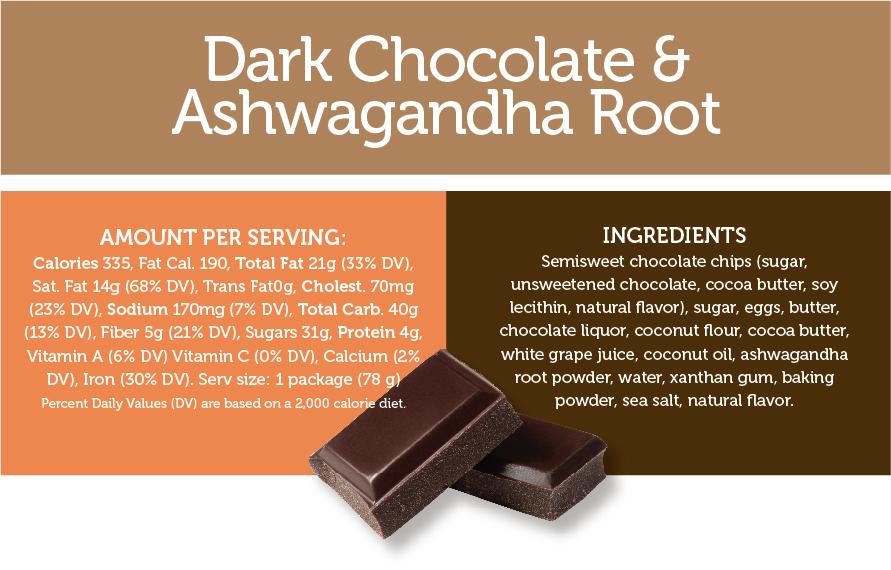 Dark Chocolate & Ashwagandha Root