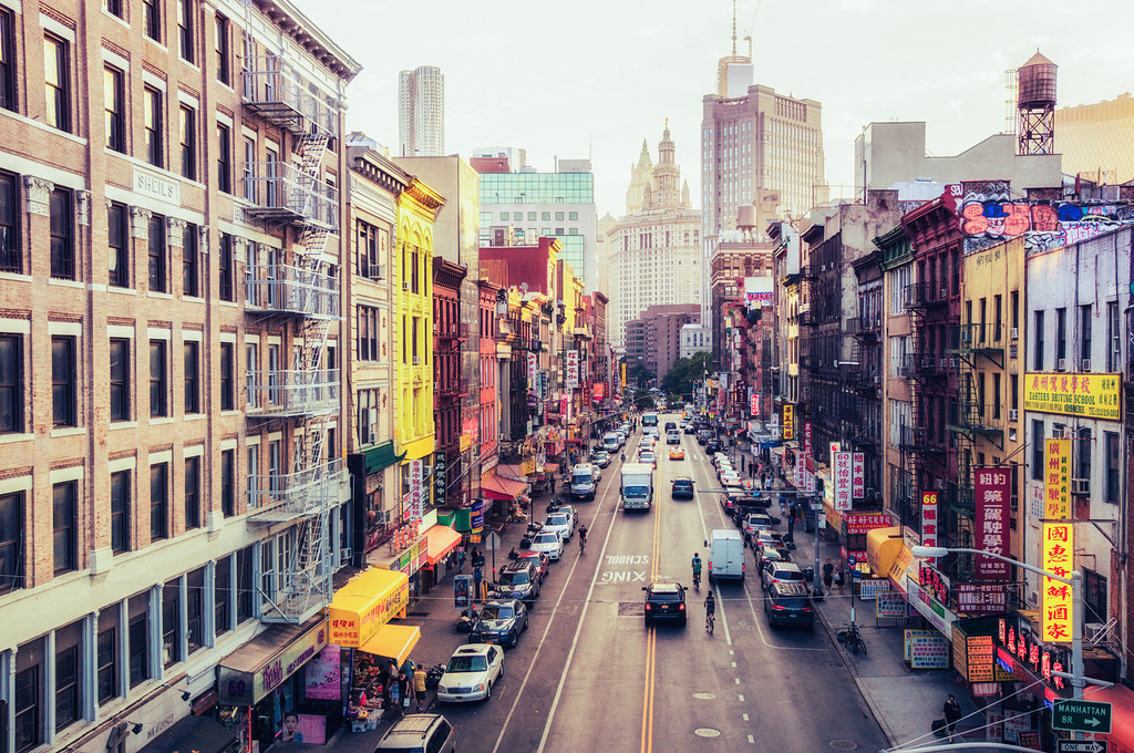 New York City Streets - Chinatown - East Broadway----XL