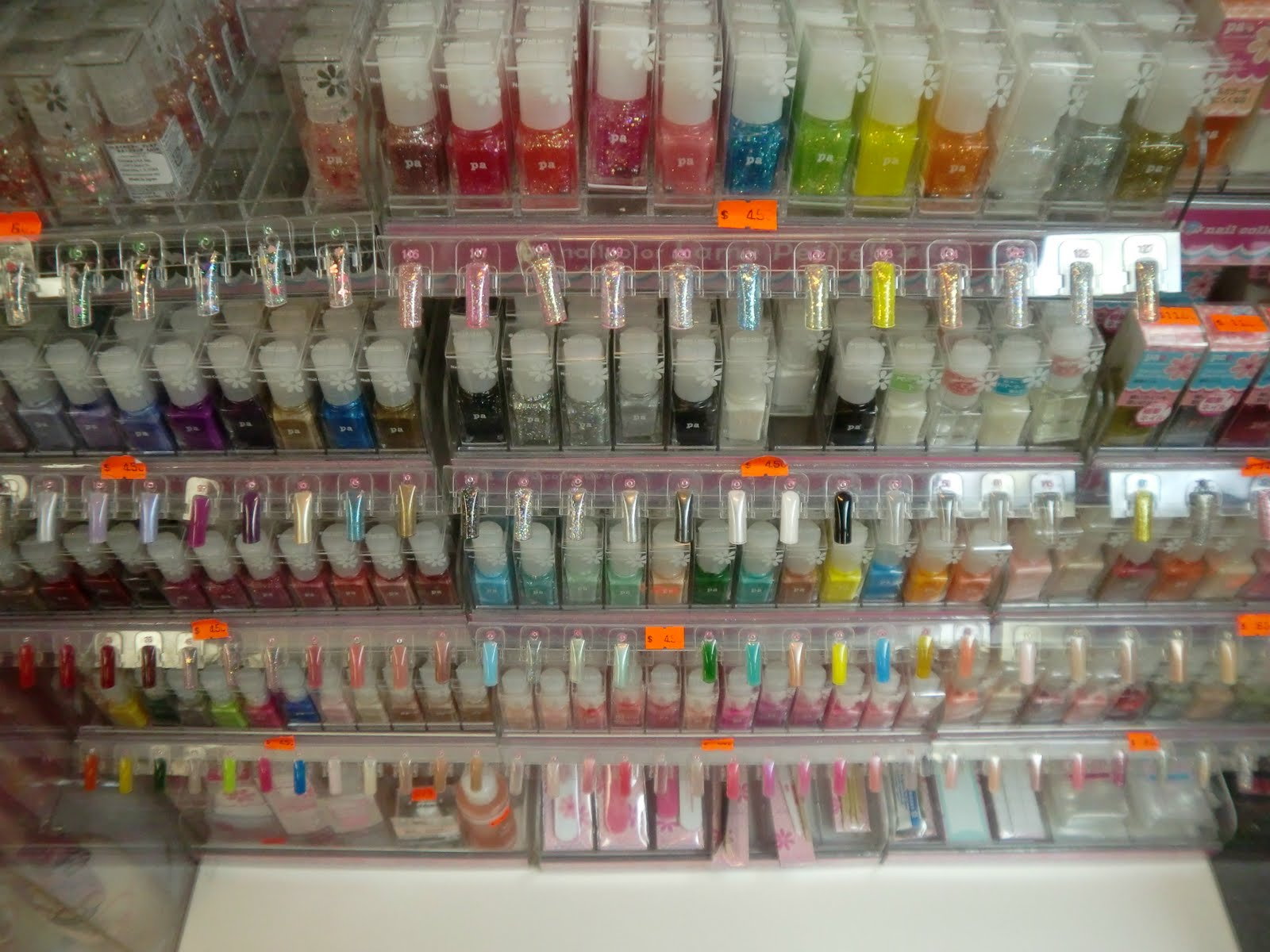 Nail Polish Selection In EC — Christina of Chinatown