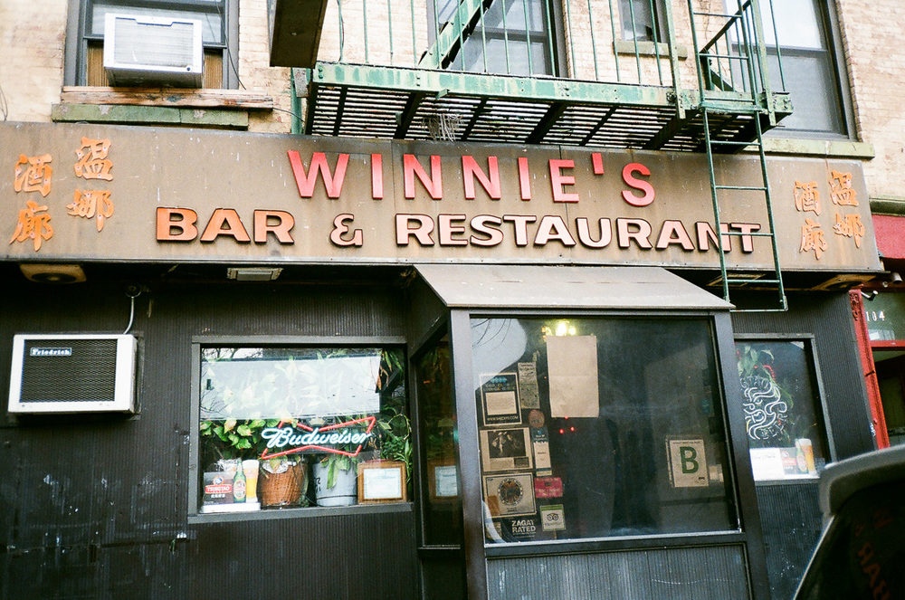 Winnie's Bar & Restaurant on Bayard Street
