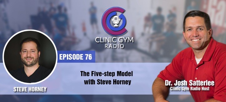 "EP 76: Steve currently runs a business in New York, but he used to manage a decent-sized clinic until he realized that he was really burnt out.  He then formulated the five-step model based on his experiences working his way to put up his own business and has helped numerous care providers to build their own and be successful. Steve likes it ""gritty and grimy"" when providing care; to actually get on the floor and apply what you're trained to do"
