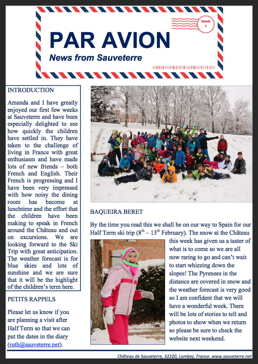 Issue No.1 (February 2015)