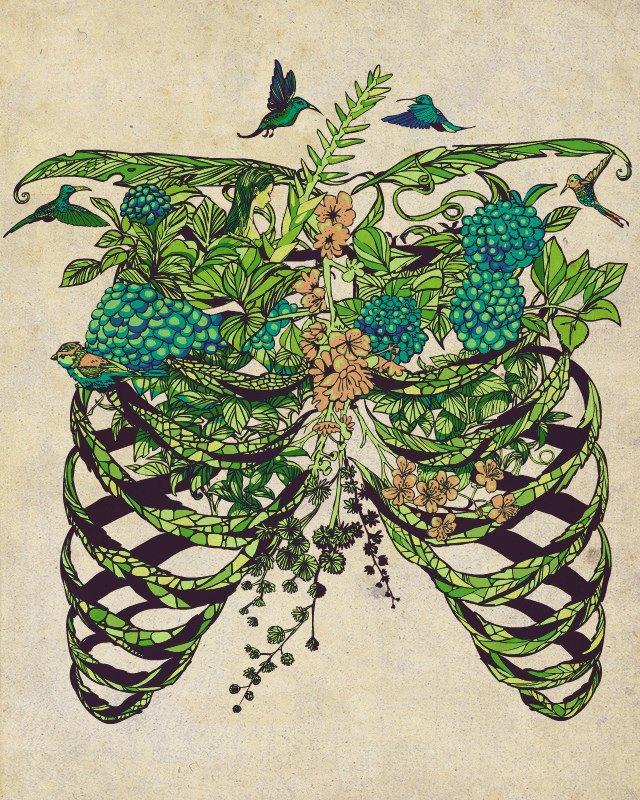 flower ribs