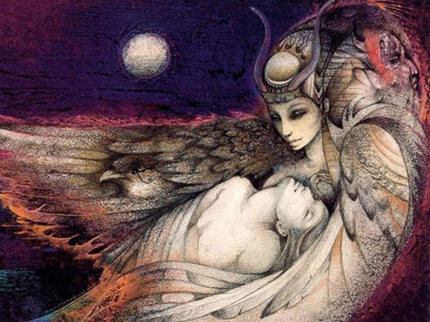 art by Susan Seddon Boulet