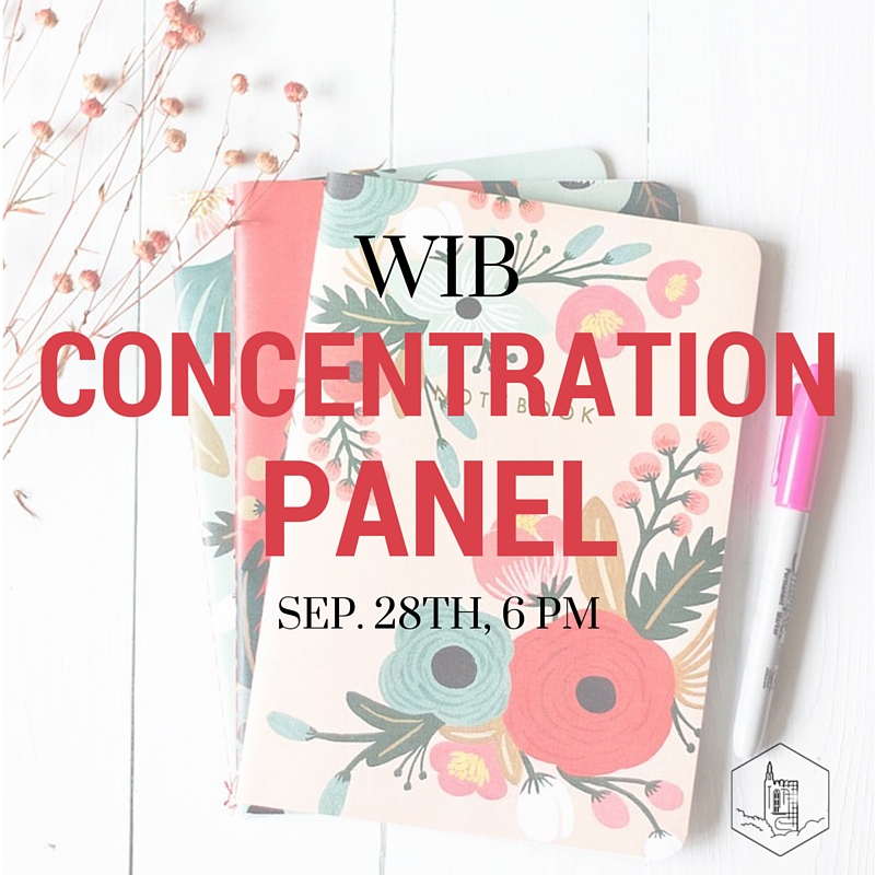 Don't necessarily know what you want to do in CSOM or A&S? Come to the Concentration Panel in Fulton Honors at 6:00 PM. If you are interested in participating in the panel sign up here:https://docs.google.com/…/1xSiZiY7U_MC9mQ4dBzATCLBIh1mRcX3…/