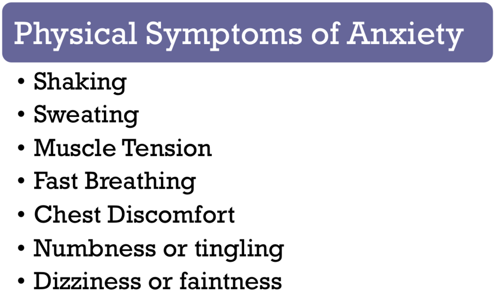 Anxiety A Few Tools For Your Toolbox