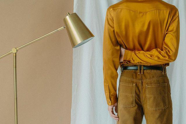 s y m m e t r y — #symmetry #gold #tan #tones #mininalist #minimalarchive #fashionphotography #fashionphotographer #uo #uoonyou #malemodel #dallasmodel #dallasphotographer #vogue #menswear #mensfashion #midcenturymodern #mcm #art #dallasfashion #thetxstudio #oaklawn